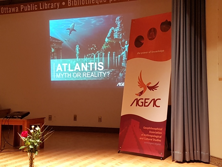 The AGEAC Talk Part One: A Brief History of Atlantis