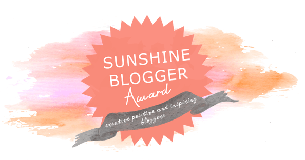 The Sunshine Blogger Award 2018